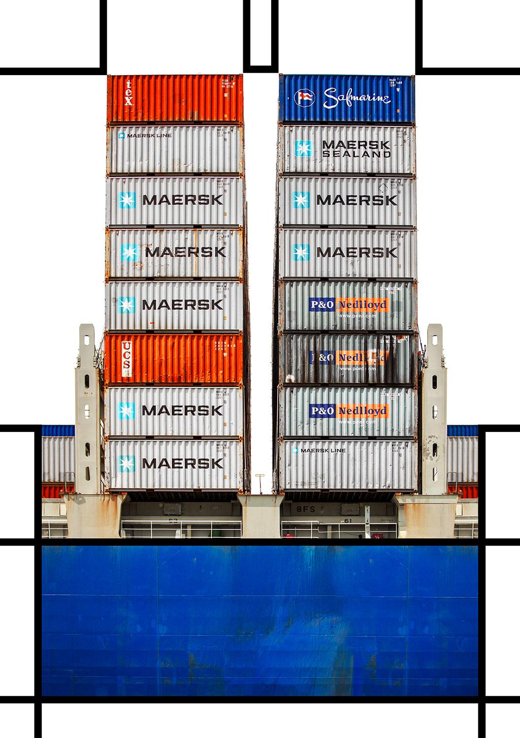 Port Mondrian 10 by Dan Kaufman, Studio Kaufman