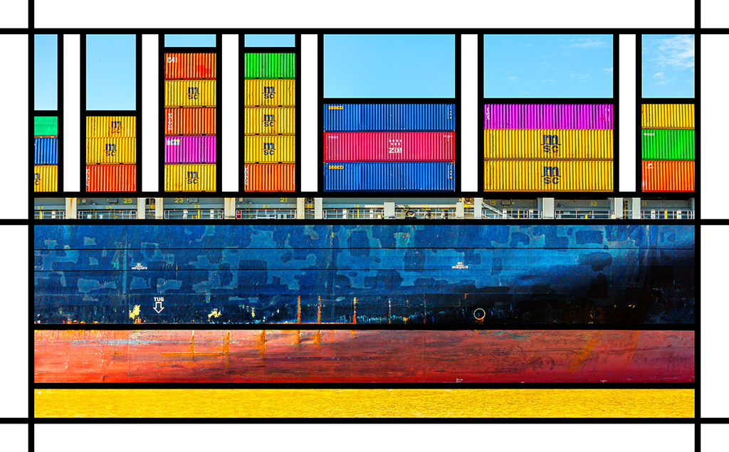 Port Mondrian 7 by Dan Kaufman, Studio Kaufman