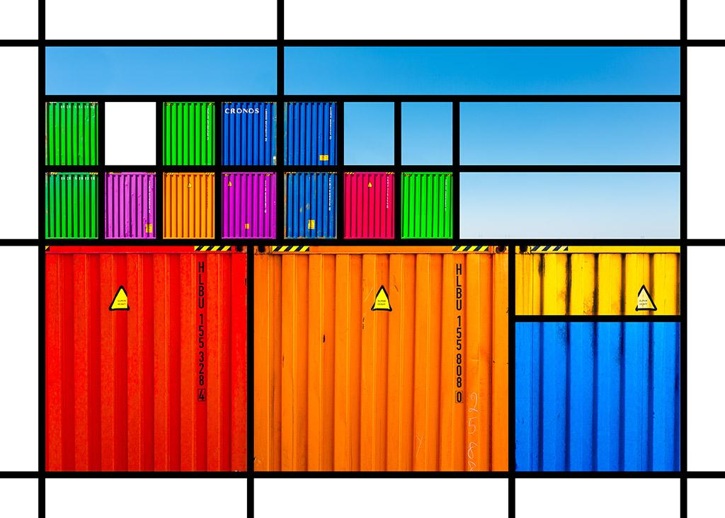 Port Mondrian 1 by Dan Kaufman, Studio Kaufman