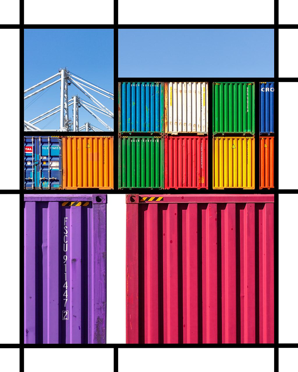 Port Mondrian 2 by Dan Kaufman, Studio Kaufman