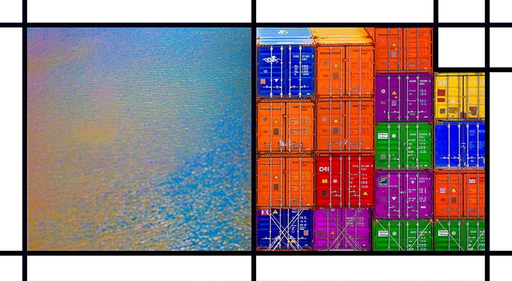 Port Mondrian 9 by Dan Kaufman, Studio Kaufman