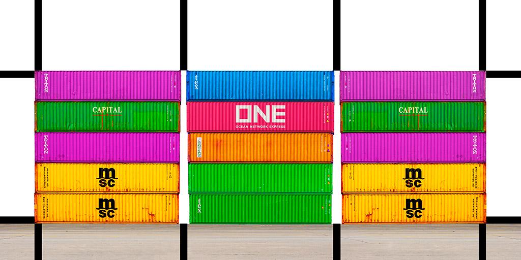 Port Mondrian 5 by Dan Kaufman, Studio Kaufman