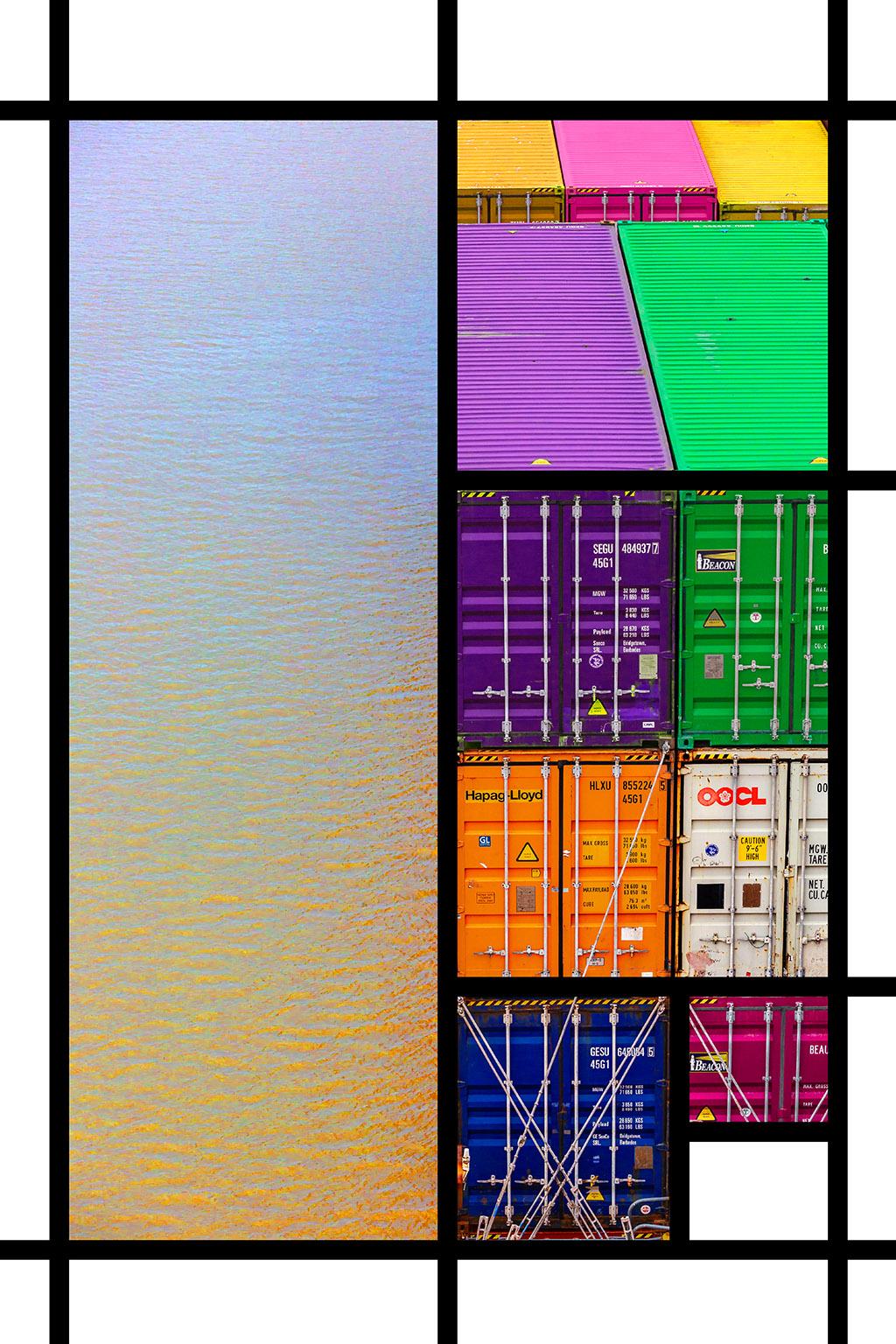 Port Mondrian 6 by Dan Kaufman, Studio Kaufman